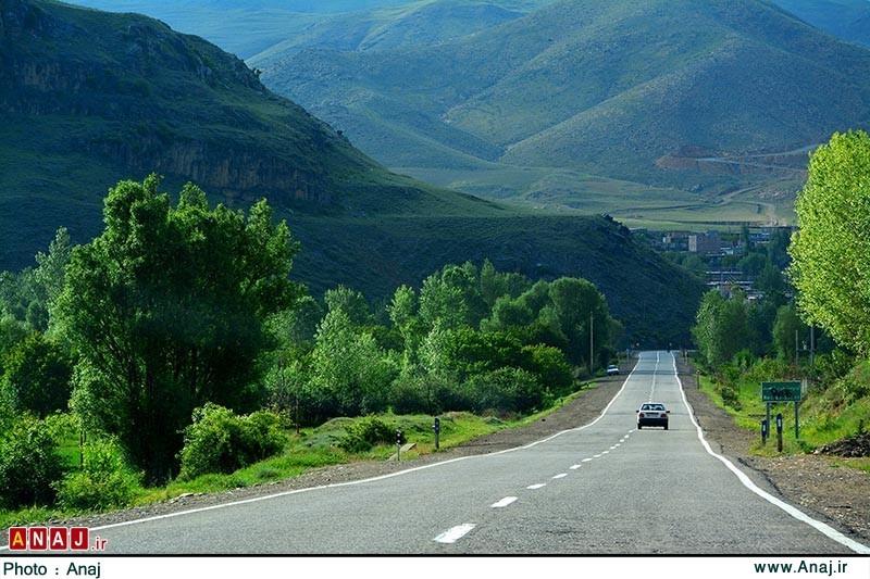 جاده های آذربایجان شرقی