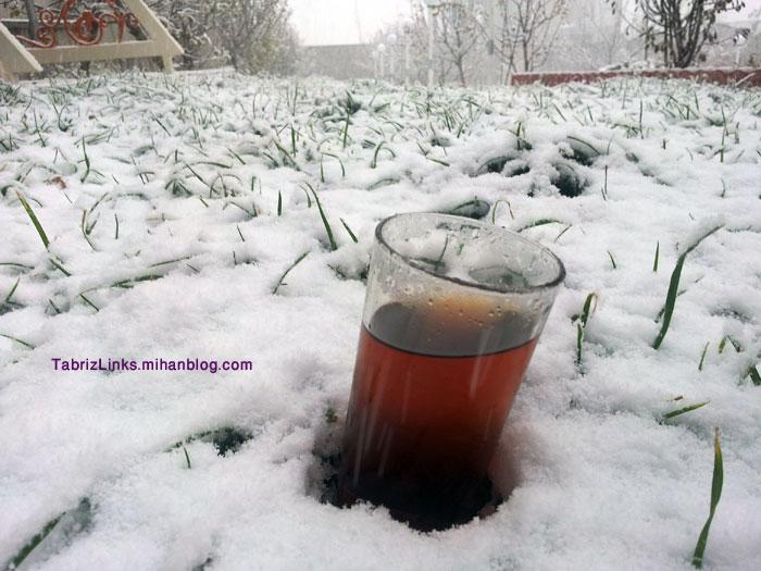 چای گرم