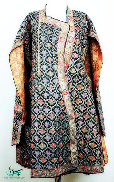 لباس محلی آذری زنانه