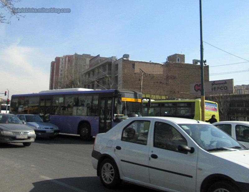 اتوبوسرانی تبریز