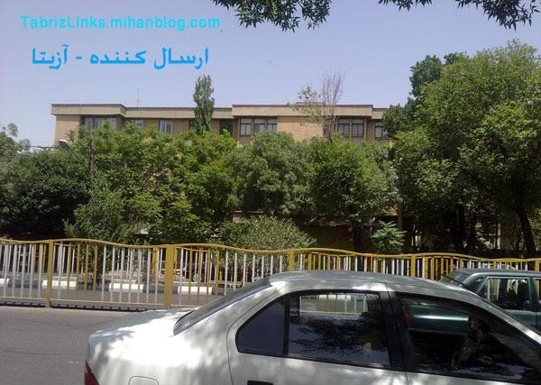 مسیر خیابان راه آهن تبریز