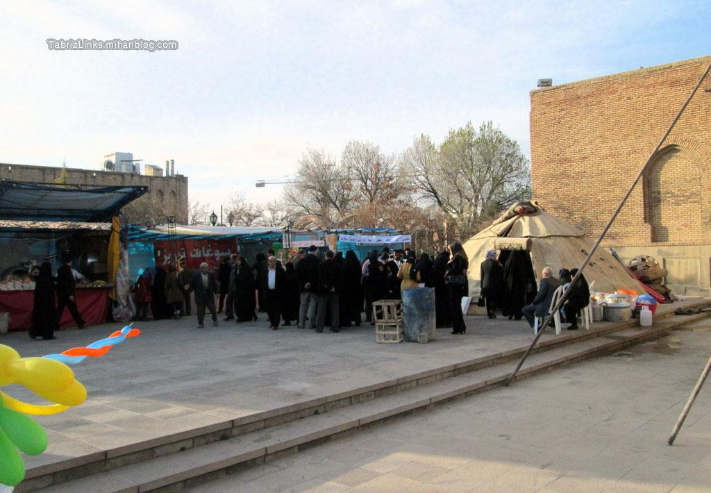 نمایشگاه صنایع دستی آذربایجان