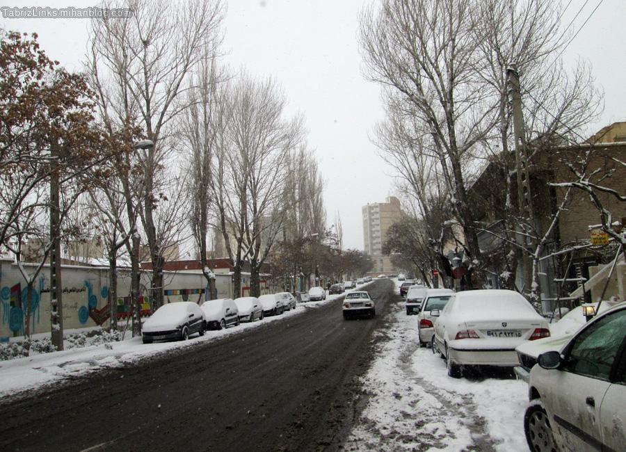 خیابان دانشجو تبریز