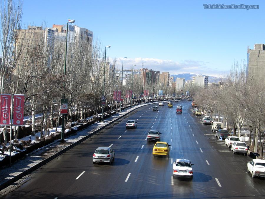 کلانشهر زیبای تبریز