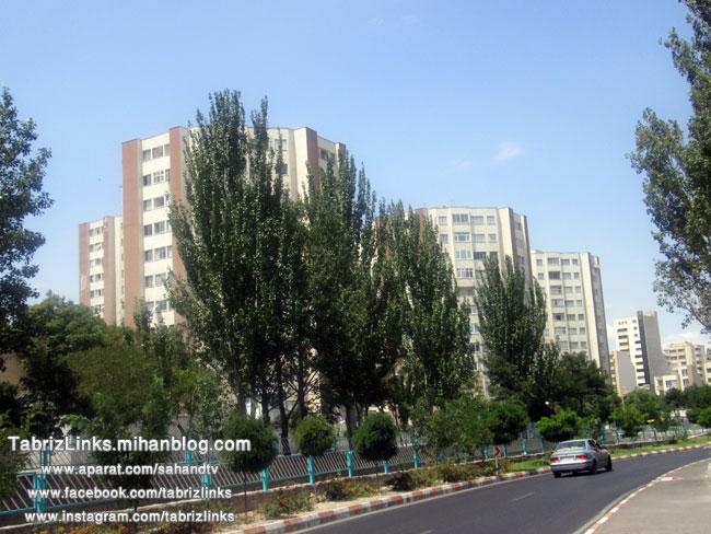نمای شهری تبریز