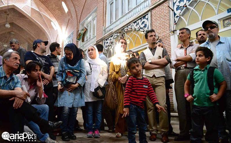 بازیگران در تبریز