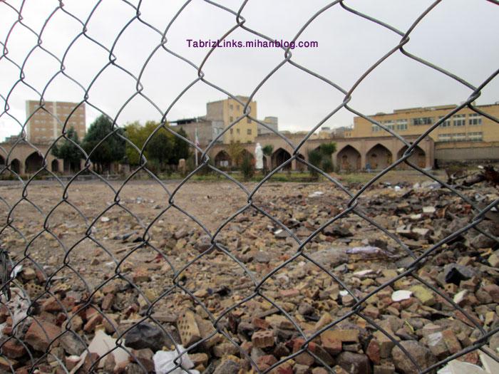 وضعیت باغ دو کمال تبریز