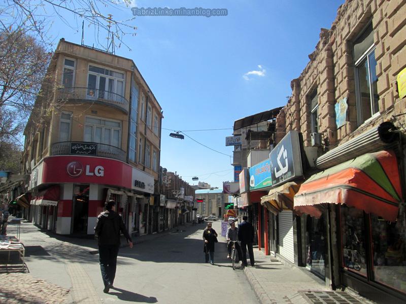 محله سنگی تبریز
