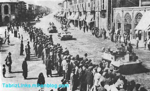 جنگ جهانی در تبریز