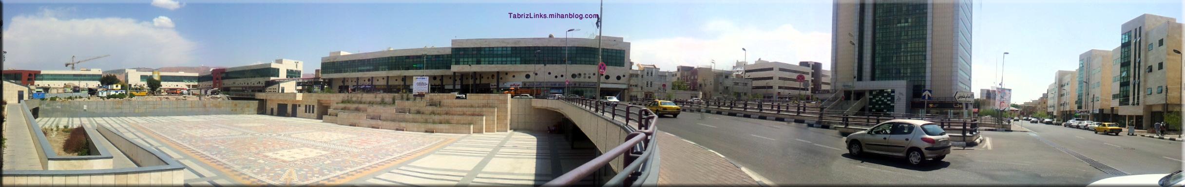 میدان ابریشم تبریز