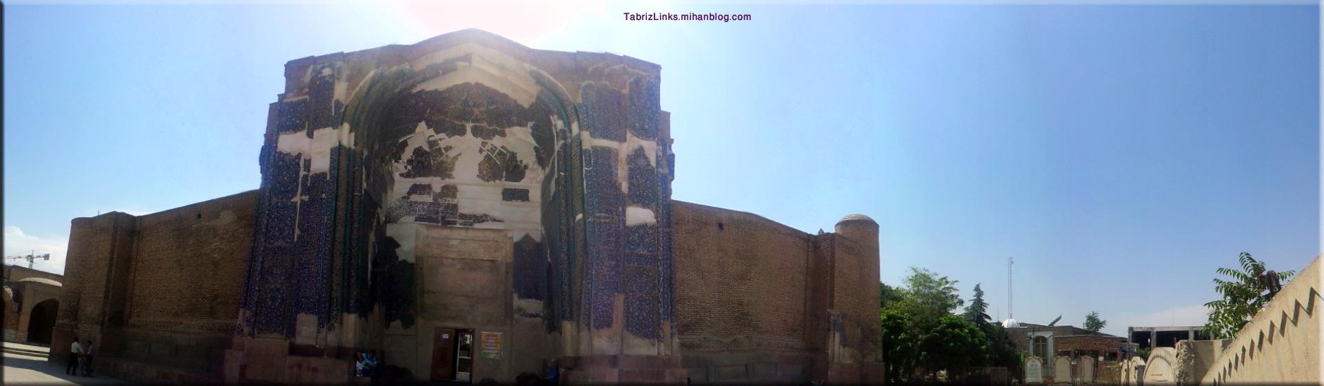 پانارومای مسجد کبود