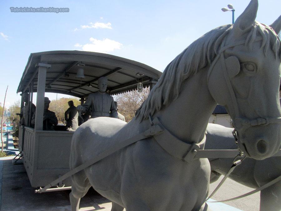 اسب تراموا