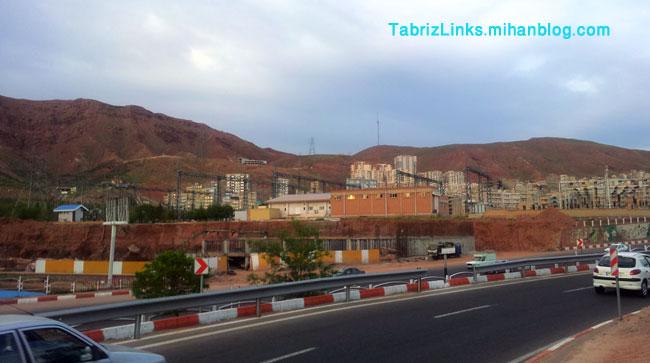 نیروگاه برق تبریز