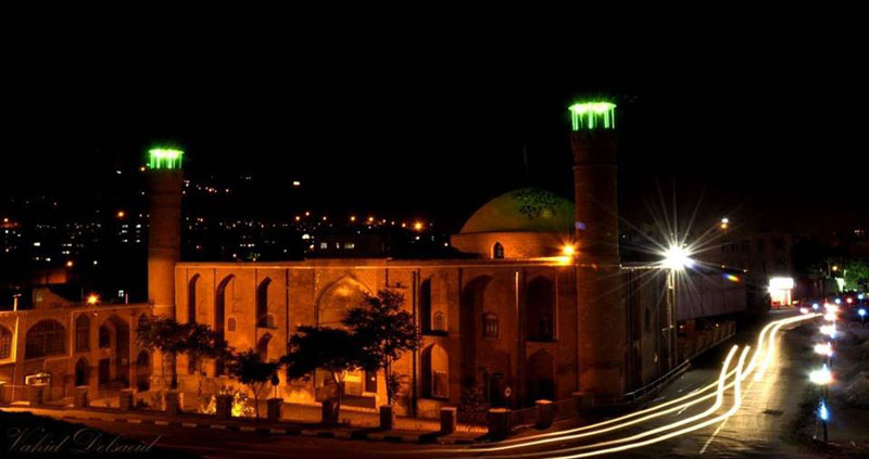 mosque of tabriz