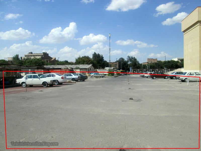 پارکینگ مصلای تبریز