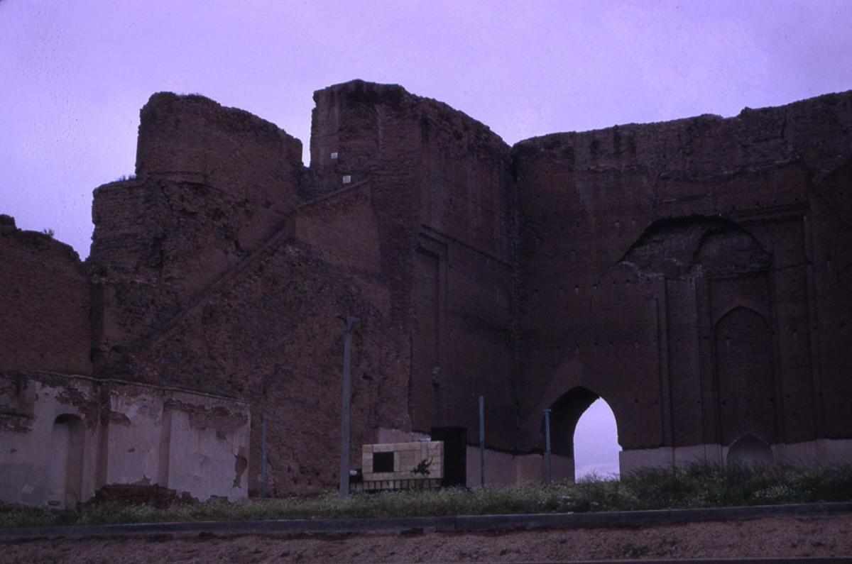 تخریب بنای ارگ تبریز