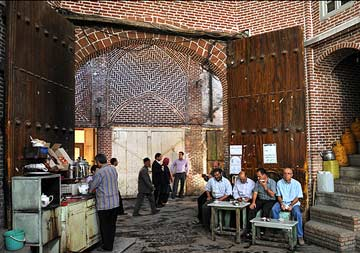 قلیان بازار تبریز