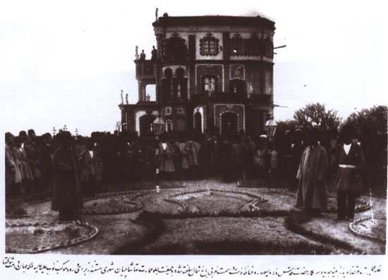 کاخهای تبریز