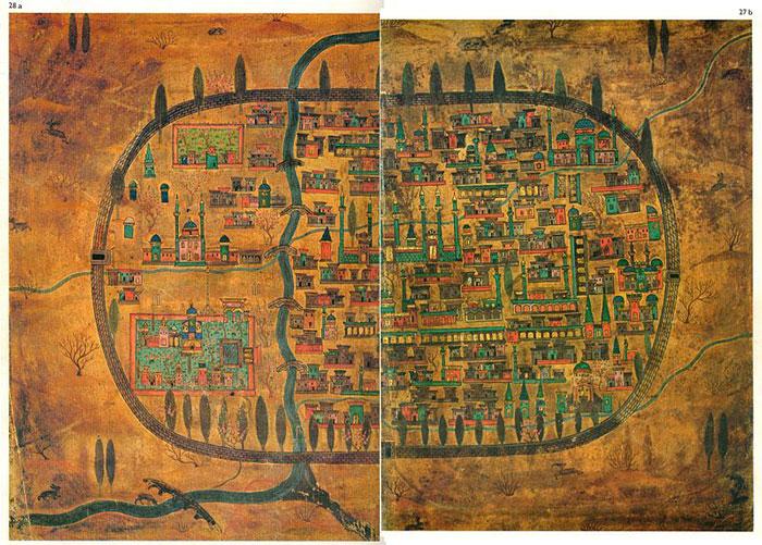 نقشه تبریز قدیم