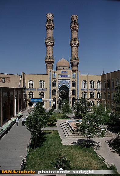 مسجد جامع شهر تبریز