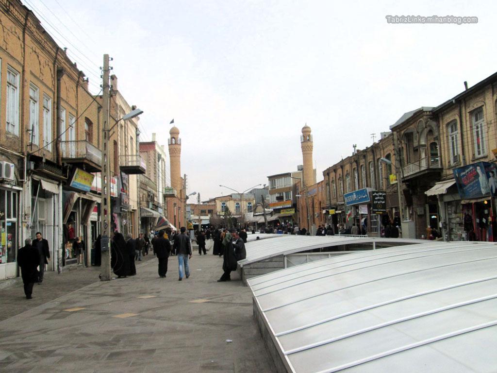 مساجد بازار تبریز