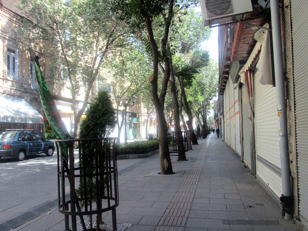 خیابان تاریخی تربیت تبریز