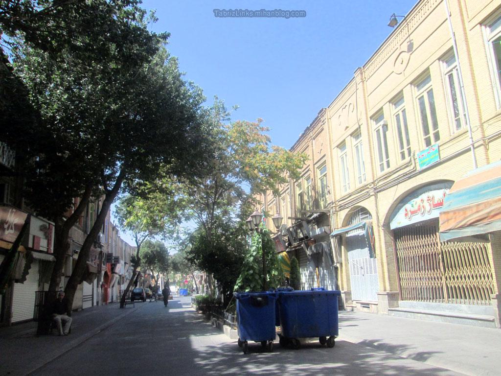 شهر تمیز تبریز